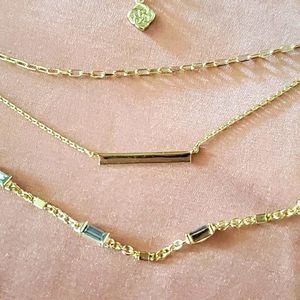 New without Tags Kendra Scott layer necklaces